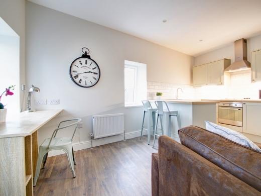 Flat S Park View 1 Bedroom Nottingham Student Accommodation Living room