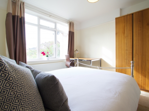 4 Union Road, Exeter, Student House, Bedroom, Angle 2