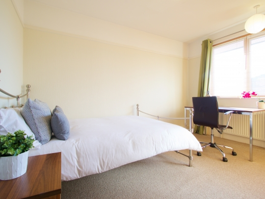 4 Union Road, Exeter, Student House, Bedroom