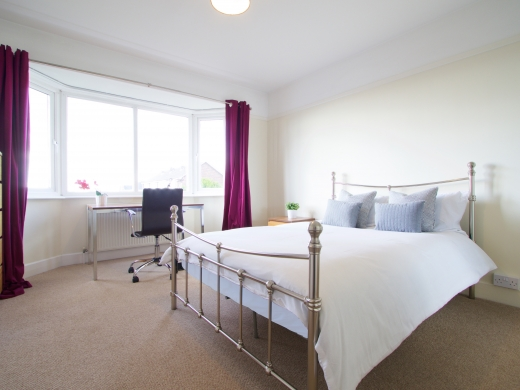 4 Union Road, Exeter, Student House, Bedroom Angle 1