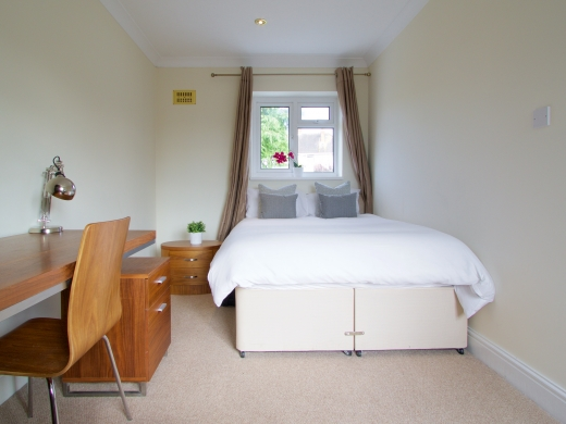42 Union Road, Exeter, Student House, Bedroom, Angle 2