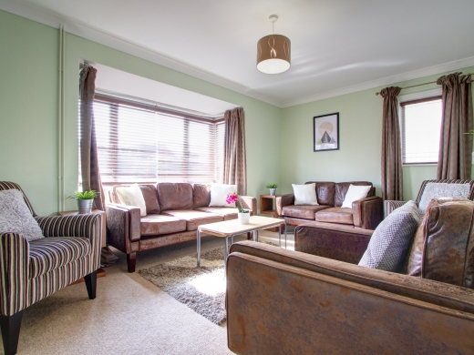 44 Union Road, Exeter, Student House, Living room