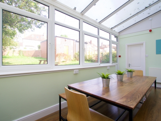 44 Union Road, Exeter, Student House, Dining room, Angle 1