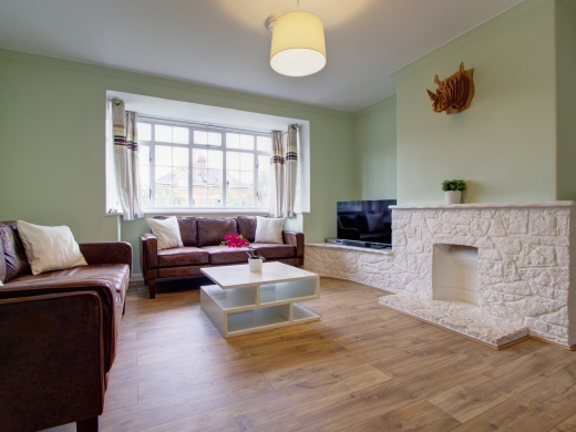 50 Union Road, Exeter, Student House, Living room, Angle 1
