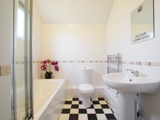 2 Forest Grove, Nottingham, Student House, Bathroom