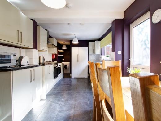 4 Albert Grove, Nottingham, Student House, Kitchen, Angle 2