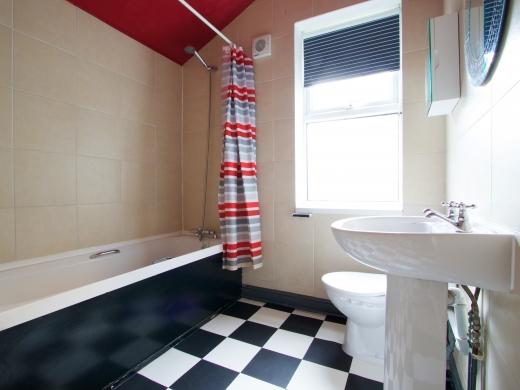 4 Albert Grove, Nottingham, Student House, Bathroom