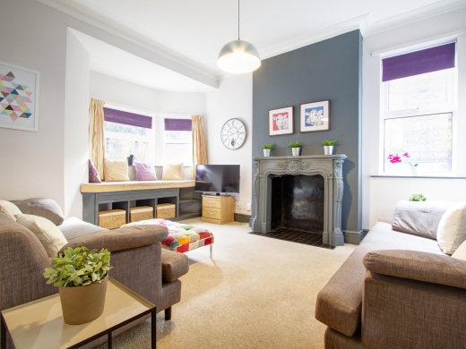 4 Albert Grove, Nottingham, Student House, Sitting Room