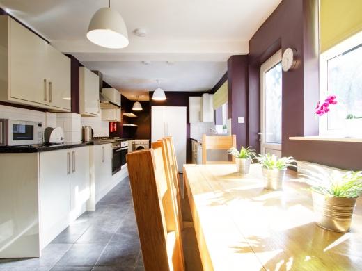 4 Albert Grove, Nottingham, Student House, Kitchen, Angle 1
