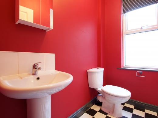 4 Albert Grove, Nottingham, Student House, Bathroom, Angle 1