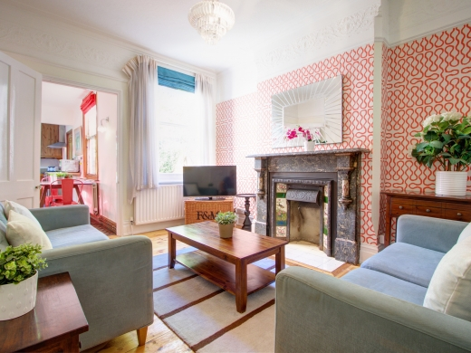 4 Seely Road, Nottingham, Student House, sitting room