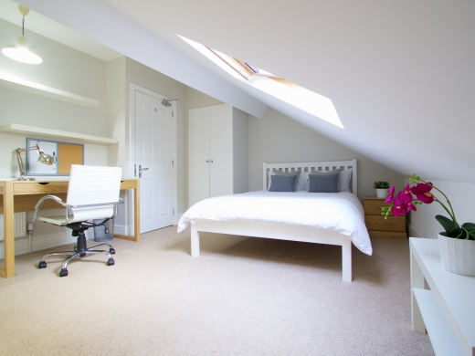 36 Derby Grove, Nottingham, Student House, Bedroom, Angle 2