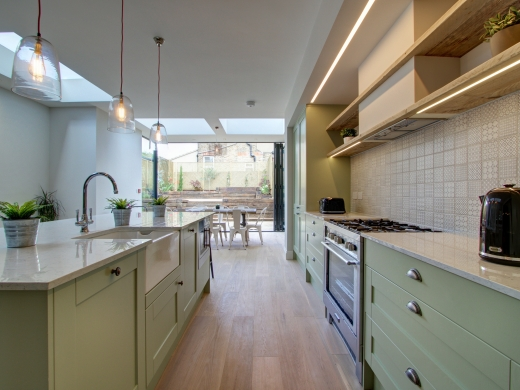 4 Kingsley Avenue London Student House Kitchen