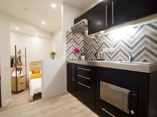 Flat 1 Station Studios London Student Studio Kitchen