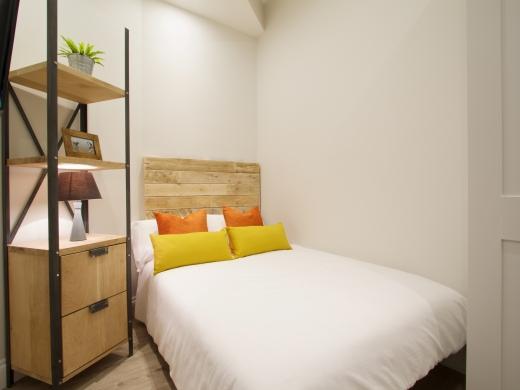 Flat 1 Station Studios London Student Studio Bed