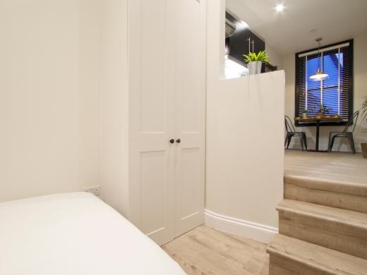 Flat 1 Station Studios London Student Studio Steps to Kitchen