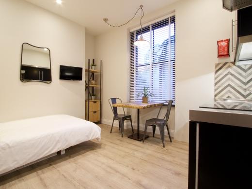 Flat 2 Station Studios London Student Studio Bedroom