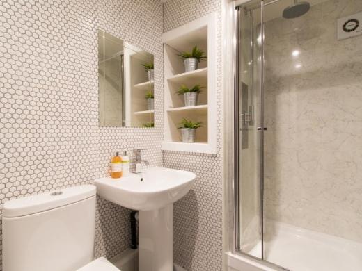 Flat 1, Victoria Court Mews Leeds Student House Bathroom