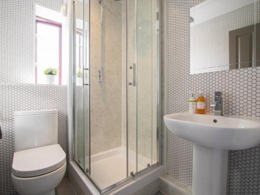 Flat 7, Victoria Court Mews Leeds Student House Bathroom