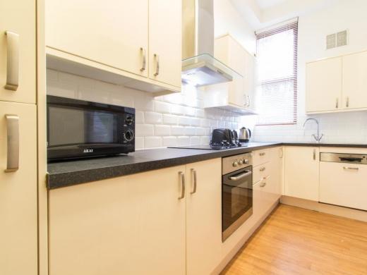 Flat 2, 17 Ladybarn Road Student House Kitchen