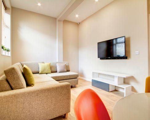 21 Mistletoe Street Durham Student House Living Room 2