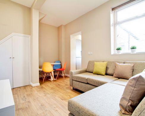 21 Mistletoe Street Durham Student House Living Room 1