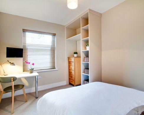 21 Mistletoe Street Durham Student House Bedroom 4