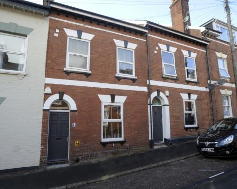 16 Victoria Street 5 Bedroom Exeter Student House Exterior