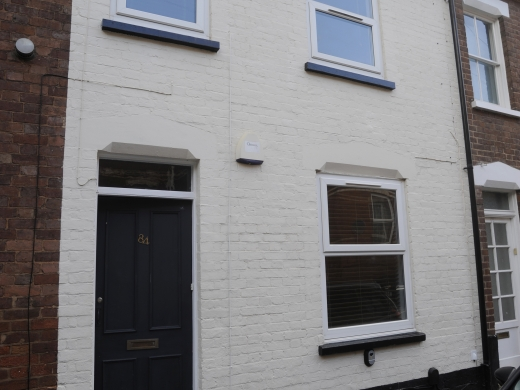 84 Victoria Street 4 Bedroom Exeter Student House Bedroom Exterior