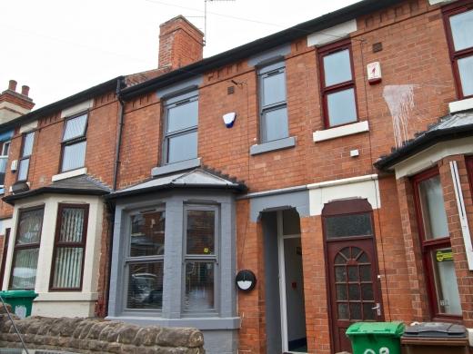 87 Kimbolton Avenue 6 Bedroom Nottingham Student House exterior shot