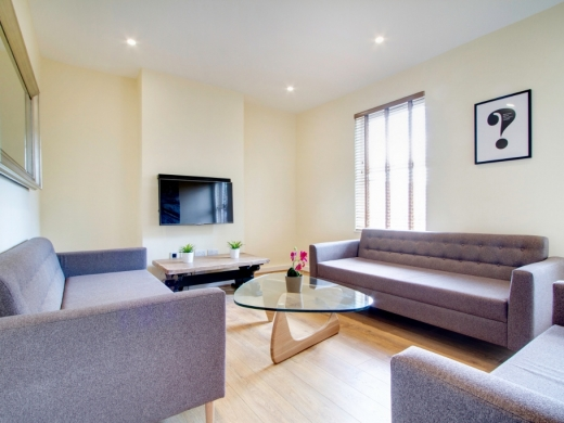 21 Booth Avenue 6 Bedroom Manchester Student House Living Room 1