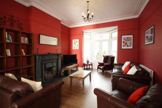 63 Waverley Road Redland Student House Living Room