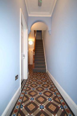 17 York Road 6 Bedroom Loughborough Student House Corridor