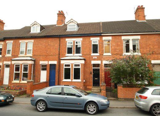 122 Park Road 6 Bedroom Loughborough Student House Exterior Shot