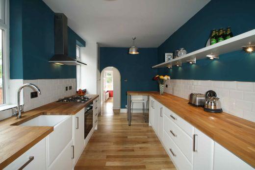 122 Park Road 6 Bedroom Loughborough Student House Kitchen 1