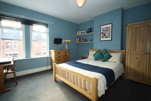 122 Park Road 6 Bedroom Loughborough Student House Bedroom 1