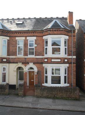 25 Dunlop Avenue 5 Bedroom Nottingham Student House Exterior
