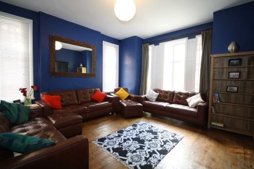 67a Cromwell Street 10 Bedroom Nottingham Student House living room 1