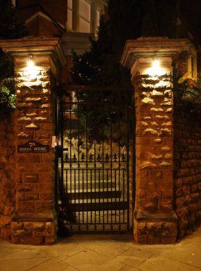 Waverley Street 4 Bedroom Nottingham Student House Exterior Gate