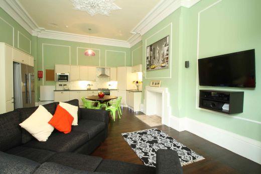 Waverley Street 4 Bedroom Nottingham Student House Living Room