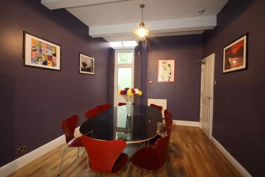 12 Amherst Road 9 Bedroom Manchester Student House Dining room 1