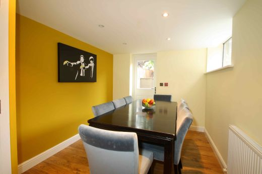 91 Lenton Boulevard 8 Bedroom Nottingham Student House dining room 1