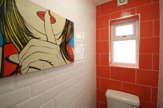 Waverley Street 6 Bedroom Nottingham Student House bathroom 2