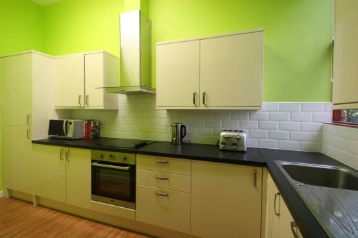 Flat 2, 17 Ladybarn Road Manchester Student House kitchen 2
