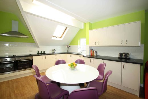 Flat 4, 17 Ladybarn Road Manchester Student House Dining