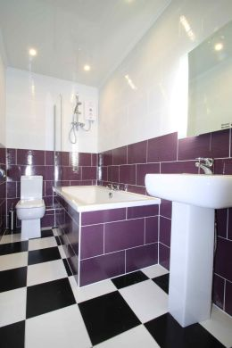 Flat 4, 17 Ladybarn Road Manchester Student House Bathroom 1