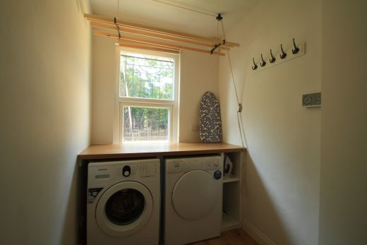 9 Buckingham Mount 6 Bedroom Leeds Student House laundry room
