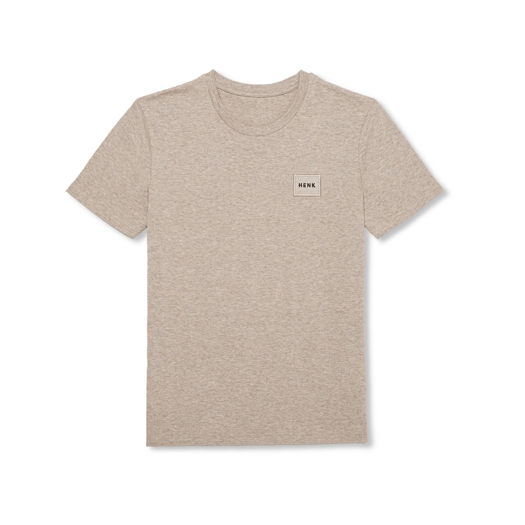 T-shirt | Beige Melange | Studio HENK | Listing_image