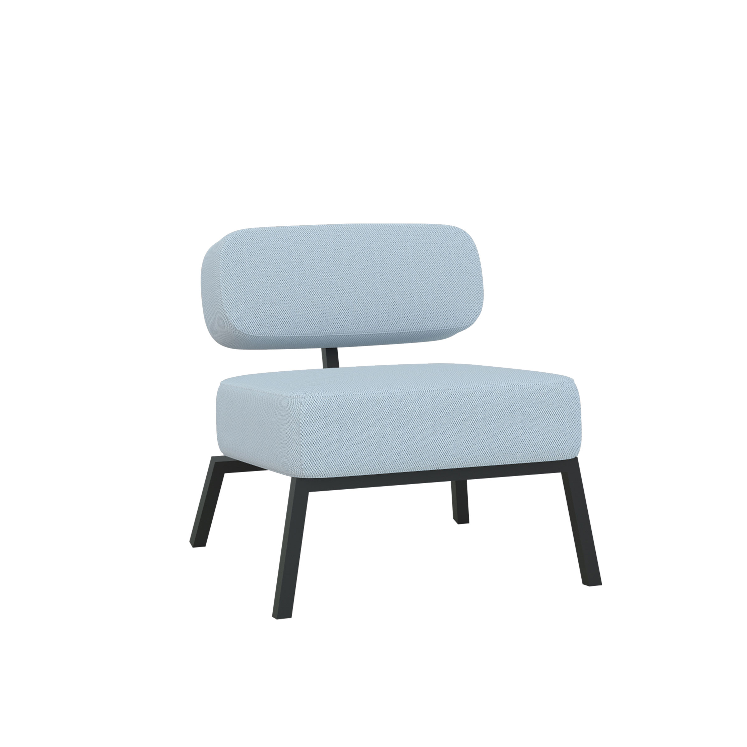 Ode lounge chair 1 seater without armrest