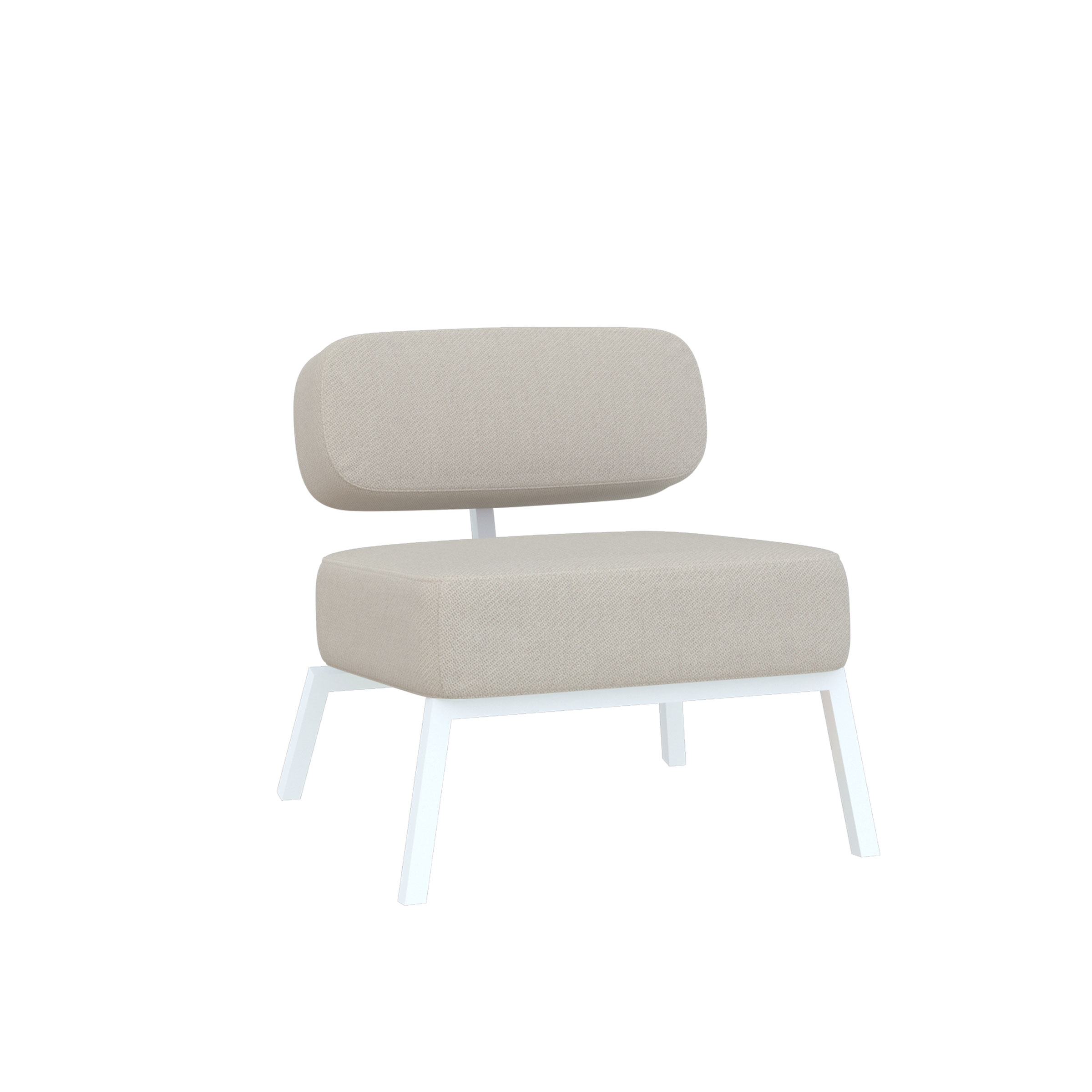 Ode lounge chair 1 zits zonder armleuning
